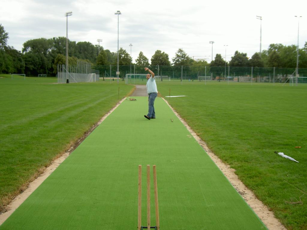 New Wicket Installation 2009